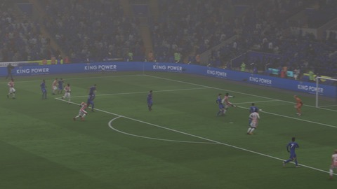 FIFA 18 キャリアモードの試合 2-2 LEI V STK, 後半