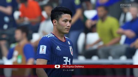FIFA 18 _ FIFA World Cup™ 3-1 JPN V POL, 後半_1