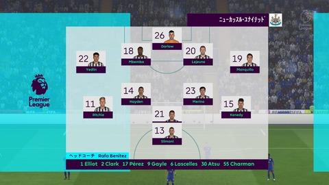 FIFA 18 キャリアモードの試合 0-0 LEI V NEW, 前半_5