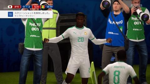 FIFA 18 _ FIFA World Cup™ 0-2 JPN V SEN, 後半