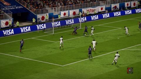 FIFA 18 _ FIFA World Cup™ 1-3 JPN V SEN, 後半_2