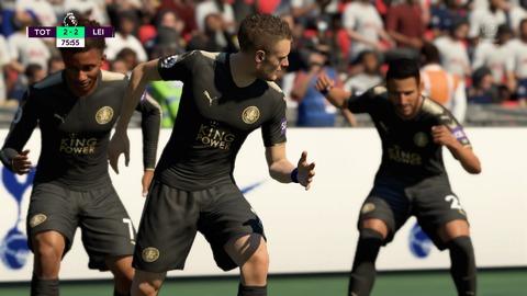 FIFA 18 キャリアモードの試合 2-2 TOT V LEI, 後半