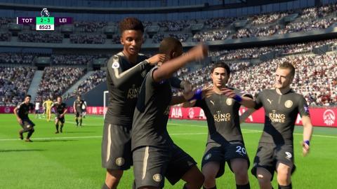 FIFA 18 キャリアモードの試合 2-3 TOT V LEI, 後半
