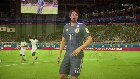 FIFA 18 _ FIFA World Cup™ 1-3 JPN V SEN, 後半