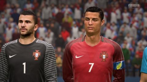 FIFA 18 キャリアモードの試合 0-0 USA V POR, 前半_2