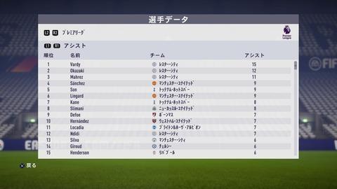 FIFA 18 キャリアモード メニューの操作_112