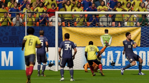 FIFA 18 _ FIFA World Cup™ 2-1 COL V JPN, 後半_4