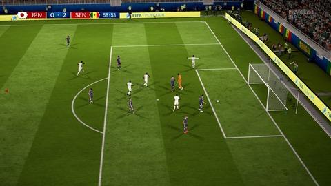 FIFA 18 _ FIFA World Cup™ 0-2 JPN V SEN, 後半_1