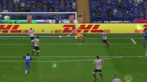 FIFA 18 キャリアモードの試合 1-1 LEI V NEW, 前半_1