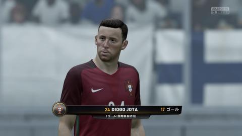 FIFA 18 キャリアモードの試合 0-1 FIN V POR, 前半