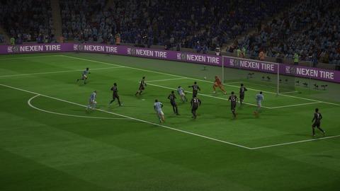 FIFA 18 キャリアモードの試合 1-0 MCI V LEI, 前半_1