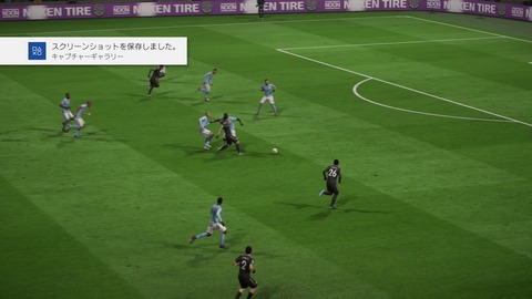 FIFA 18 キャリアモードの試合 1-1 MCI V LEI, 後半_1