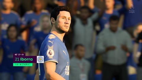 FIFA 18 キャリアモードの試合 1-1 LEI V ARS, 前半_2