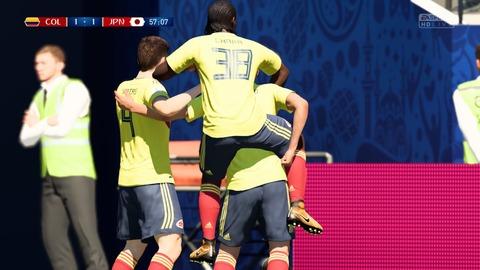 FIFA 18 _ FIFA World Cup™ 1-1 COL V JPN, 後半_4