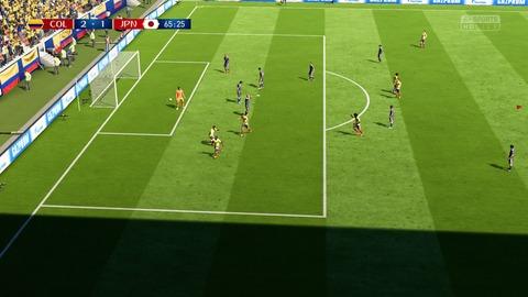 FIFA 18 _ FIFA World Cup™ 2-1 COL V JPN, 後半_5