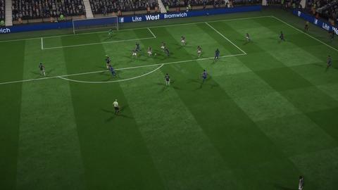 FIFA 18 キャリアモードの試合 0-1 WBA V LEI, 前半_3
