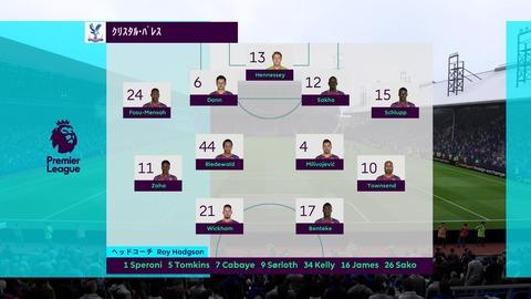 FIFA 18 キャリアモードの試合 0-0 CRY V LEI, 前半_1