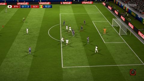 FIFA 18 _ FIFA World Cup™ 0-3 JPN V SEN, 後半
