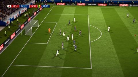 FIFA 18 _ FIFA World Cup™ 0-1 JPN V SEN, 前半