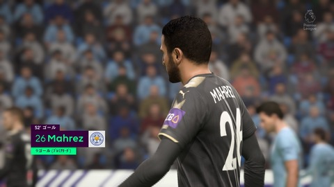 FIFA 18 キャリアモードの試合 1-1 MCI V LEI, 後半_3