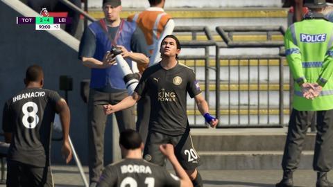 FIFA 18 キャリアモードの試合 2-4 TOT V LEI, 後半