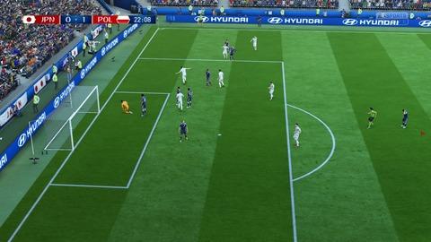 FIFA 18 _ FIFA World Cup™ 0-1 JPN V POL, 前半_4