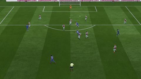 FIFA 18 キャリアモードの試合 0-1 BRN V LEI, 前半