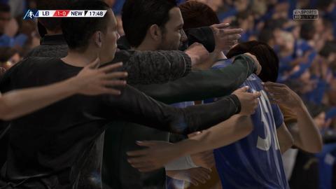FIFA 18 キャリアモードの試合 1-0 LEI V NEW, 前半_3