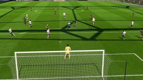 FIFA 18 キャリアモードの試合 0-1 TOT V LEI, 前半