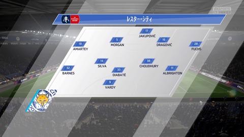 FIFA 18 キャリアモードの試合 0-0 LEI V NEW, 前半_7