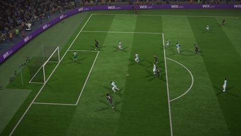 FIFA 18 キャリアモードの試合 メニューの操作_87