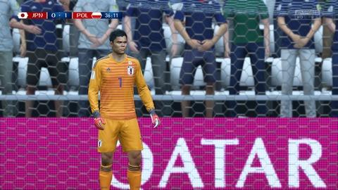 FIFA 18 _ FIFA World Cup™ 0-1 JPN V POL, 前半_6