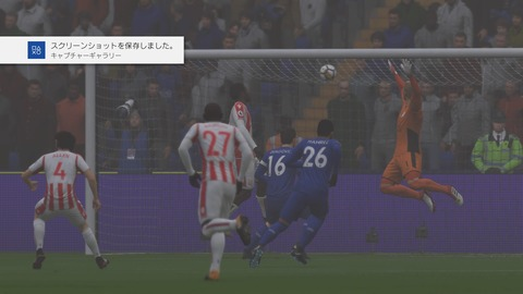 FIFA 18 キャリアモードの試合 1-1 LEI V STK, 前半_2