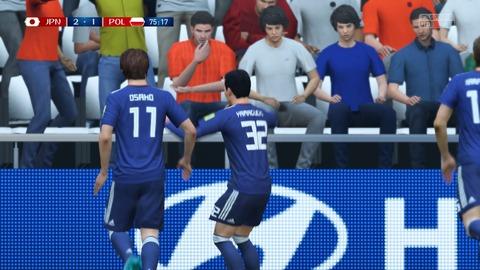 FIFA 18 _ FIFA World Cup™ 2-1 JPN V POL, 後半_2