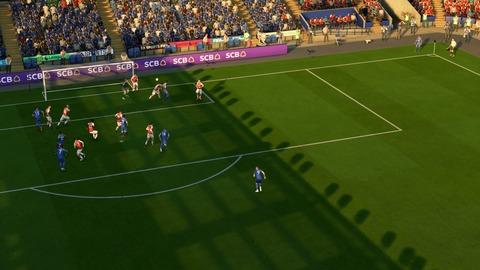 FIFA 18 キャリアモードの試合 1-1 LEI V ARS, 前半_1