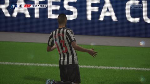 FIFA 18 キャリアモードの試合 2-1 LEI V NEW, 後半_2