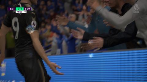 FIFA 18 キャリアモードの試合 1-0 LEI V BOU, 前半_1