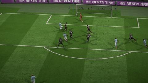 FIFA 18 キャリアモードの試合 2-1 MCI V LEI, 後半
