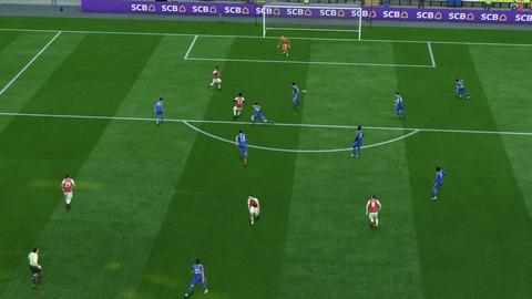 FIFA 18 キャリアモードの試合 0-1 LEI V ARS, 前半_1