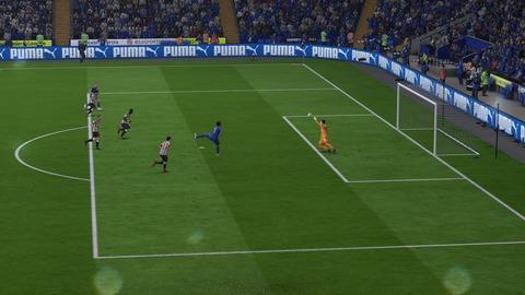 FIFA 18 キャリアモードの試合 2-1 LEI V NEW, 前半_1