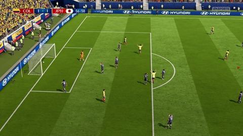 FIFA 18 _ FIFA World Cup™ 1-1 COL V JPN, 後半_5