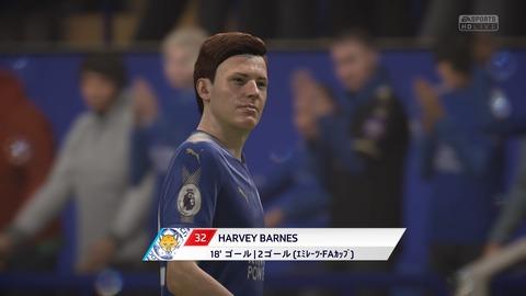 FIFA 18 キャリアモードの試合 1-0 LEI V NEW, 前半_5