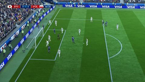 FIFA 18 _ FIFA World Cup™ 1-1 JPN V POL, 後半