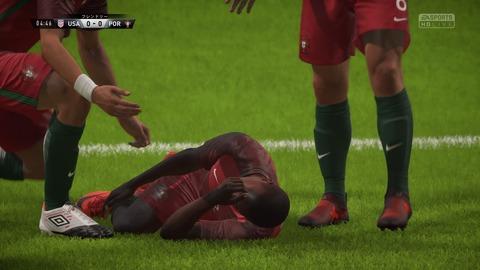 FIFA 18 キャリアモードの試合 0-0 USA V POR, 前半_4